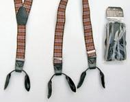 Pánské šle - Poutka na knoflík - šíře 35 mm